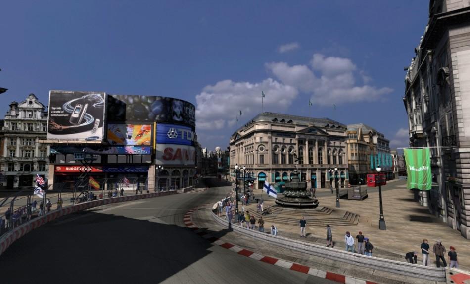 Grand Turismo 5 GT Academy 2012 Season 2 London street circuit