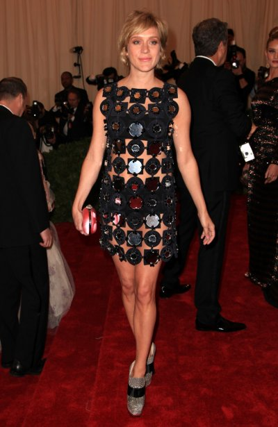 Actress Chloe Sevigny arrives at the Metropolitan Museum of Art Costume Institute Benefit in New York