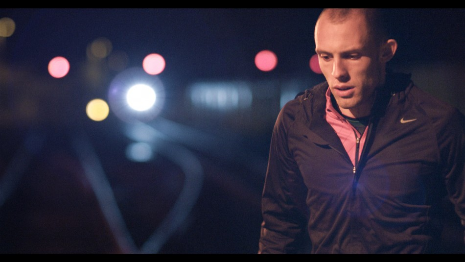 World champion Dai Greene stars in the Network Rail safety campaign (Network Rail)