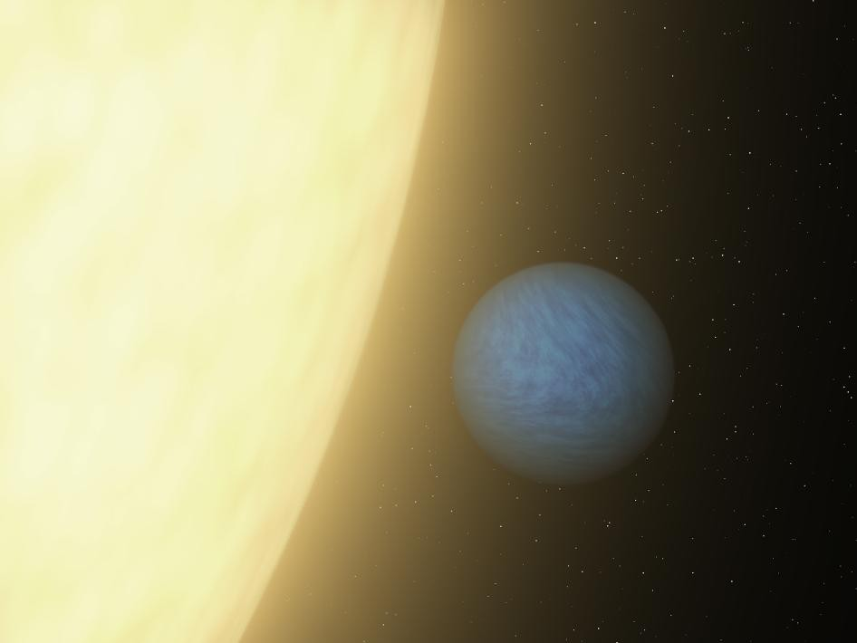 Scientists Discovers Light Emiting From An Mysterious Alien Planet