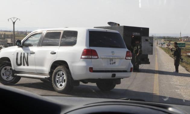 UN convoy