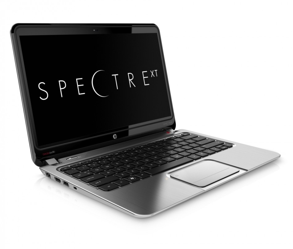 HP Envy SpectreXT Ultrabook metal not glass