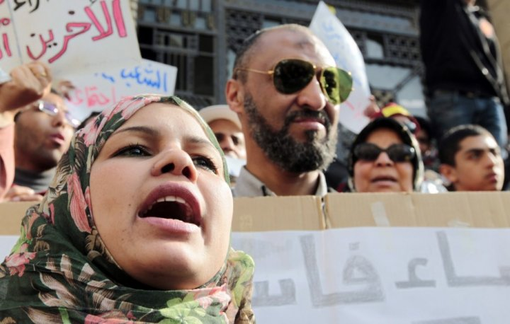 Activist Samira Ibrahim virginity tests egypt