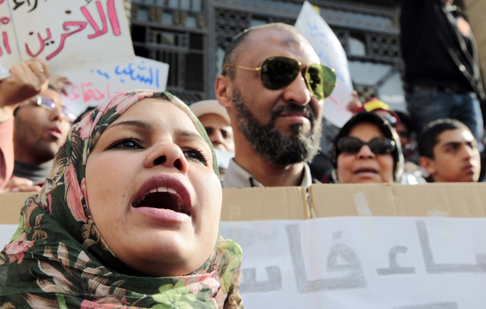 Activist Samira Ibrahim virginity tests egypt