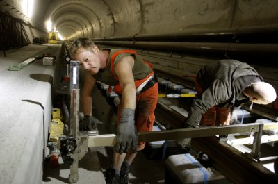 Worlds Longest Train Tunnel Major Breakthrough Total Access Passage Excavated