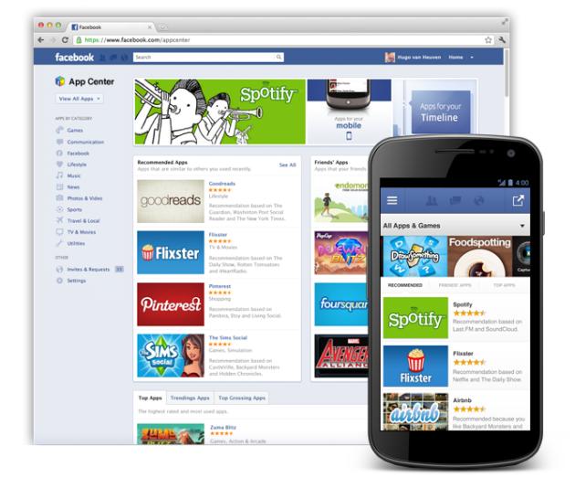 Facebook App Centre