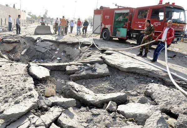 Dozens Killed In Damascus Rush-Hour Bomb Carnage