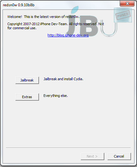 iOS 5.1.1 Jailbreak Using Redsn0w