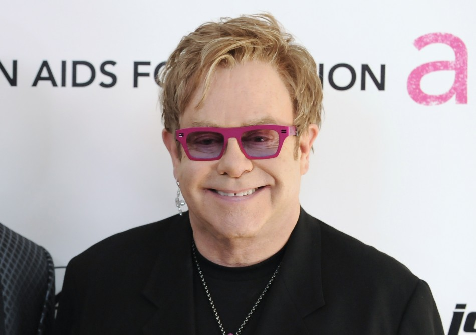 2. Musician Elton John arrives at the 19th Annual Elton John AIDS Foundation Academy Award Viewing Party in West Hollywood