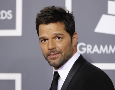 Singer Ricky Martin arrives at the 53rd annual Grammy Awards in Los Angeles