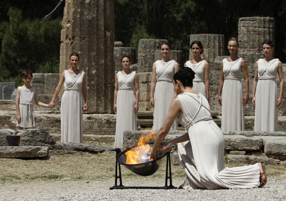 Olympic Torch Lighting Ceremony