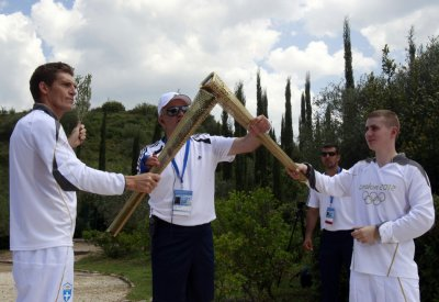 Olympic Torch Lighting Ceremony