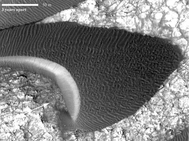 Scientists Discover Sand Dunes For the First Time In Mars