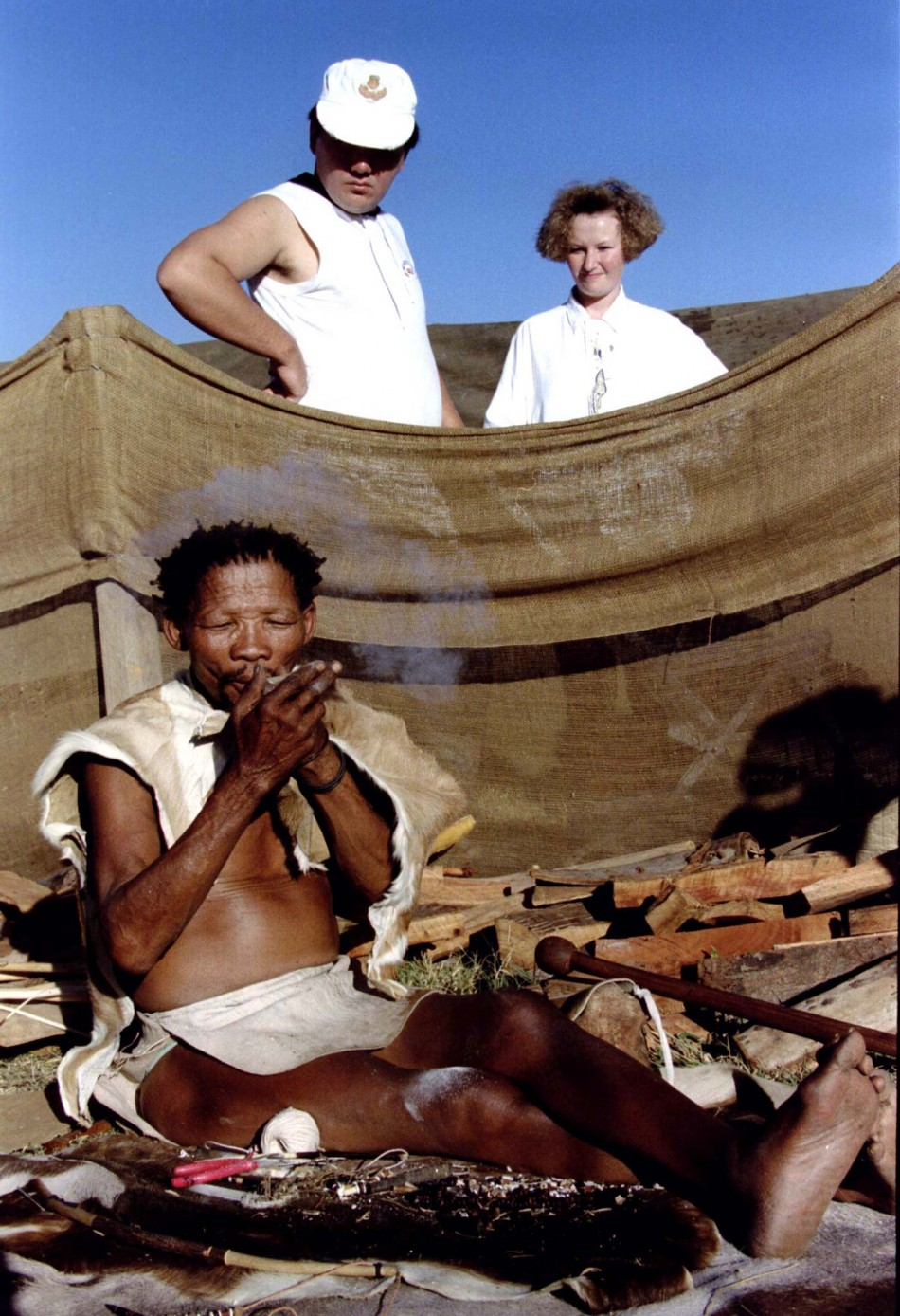 Botswana's Bushmen: The World's Last Surviving Hunter Gatherers