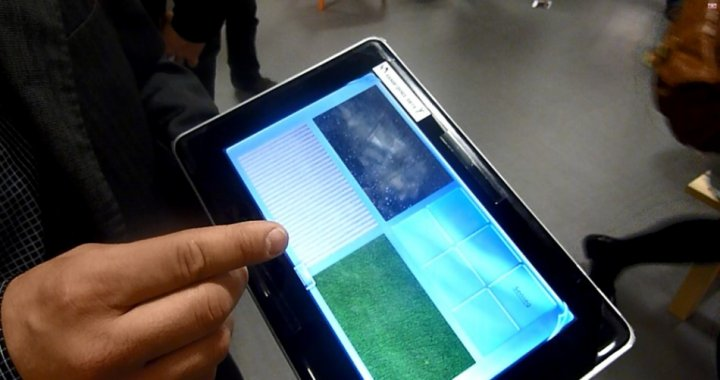 Senseg iPad E-Sense haptic technology Feel Screen force field Ville Makinen founder chief officer