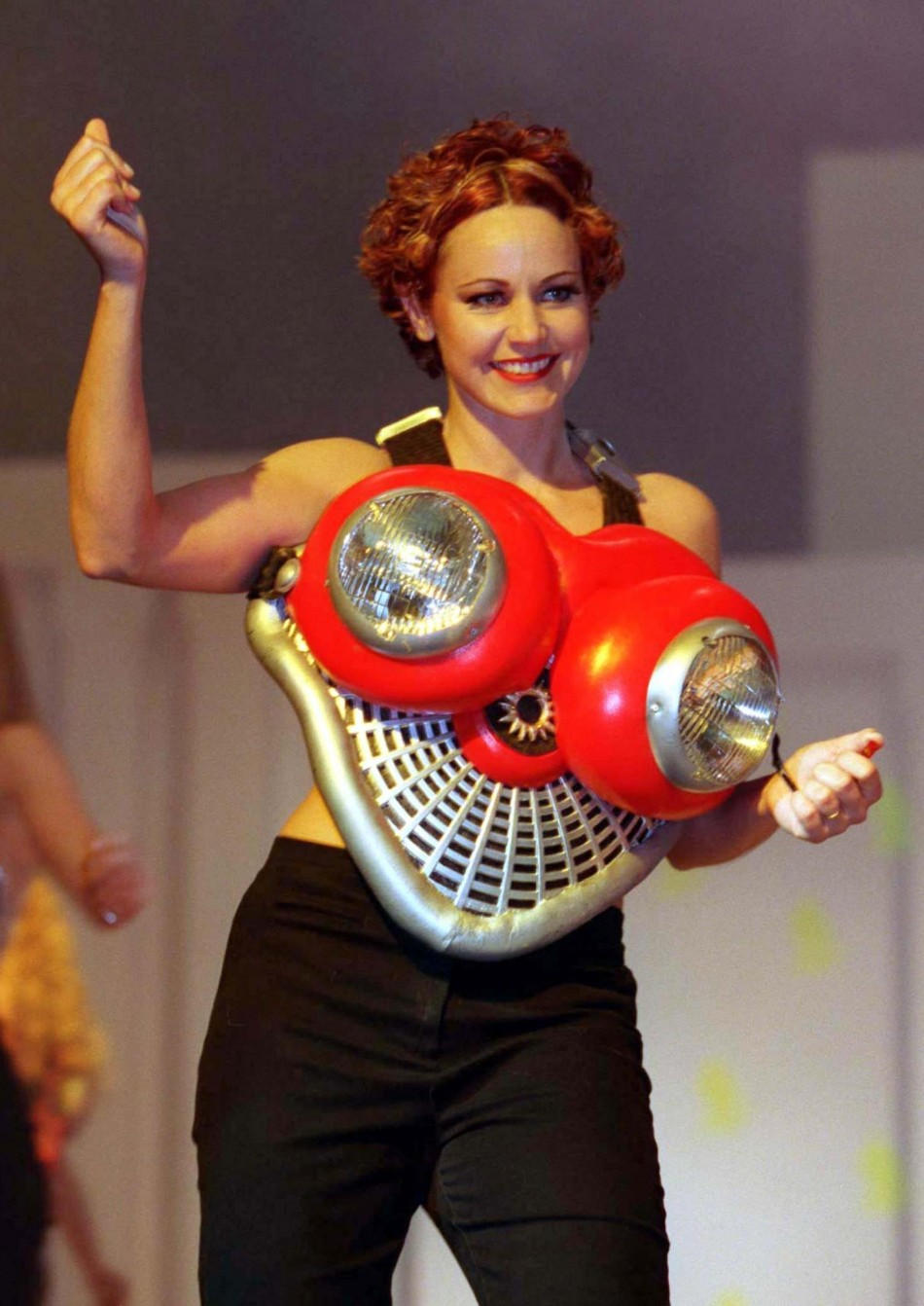 WEARABLE ART BRA AT SINGAPORE SHOW