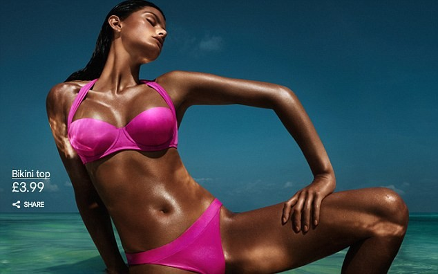 H&M Outdoes 'Tanorexic' Mom in Swimwear Campaign, Triggers Outrage among Cancer Groups