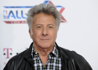Dustin Hoffman arrives at the T-Mobile Magenta Carpet pre NBA All-Star Game event in Los Angeles