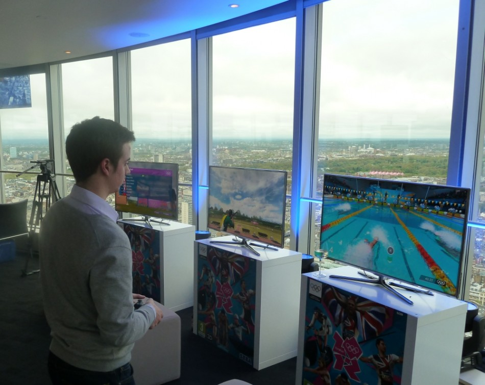 London 2012 The Official Videogame of the Olympic Games Hands On Review