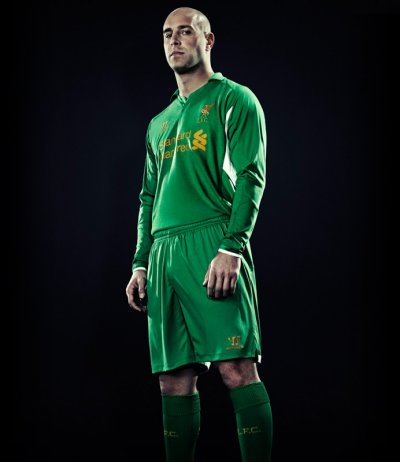 Liverpool 201213 home kit