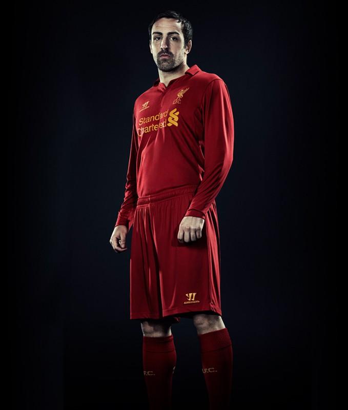Liverpool 201213 home kit