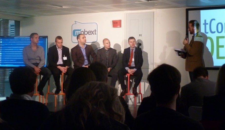 mobext and inmobi panel discussion copyright IBTimes UK - Matt Chapman