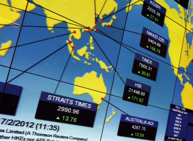 Top Global Stock Indexes To End 2012 With Solid Gains