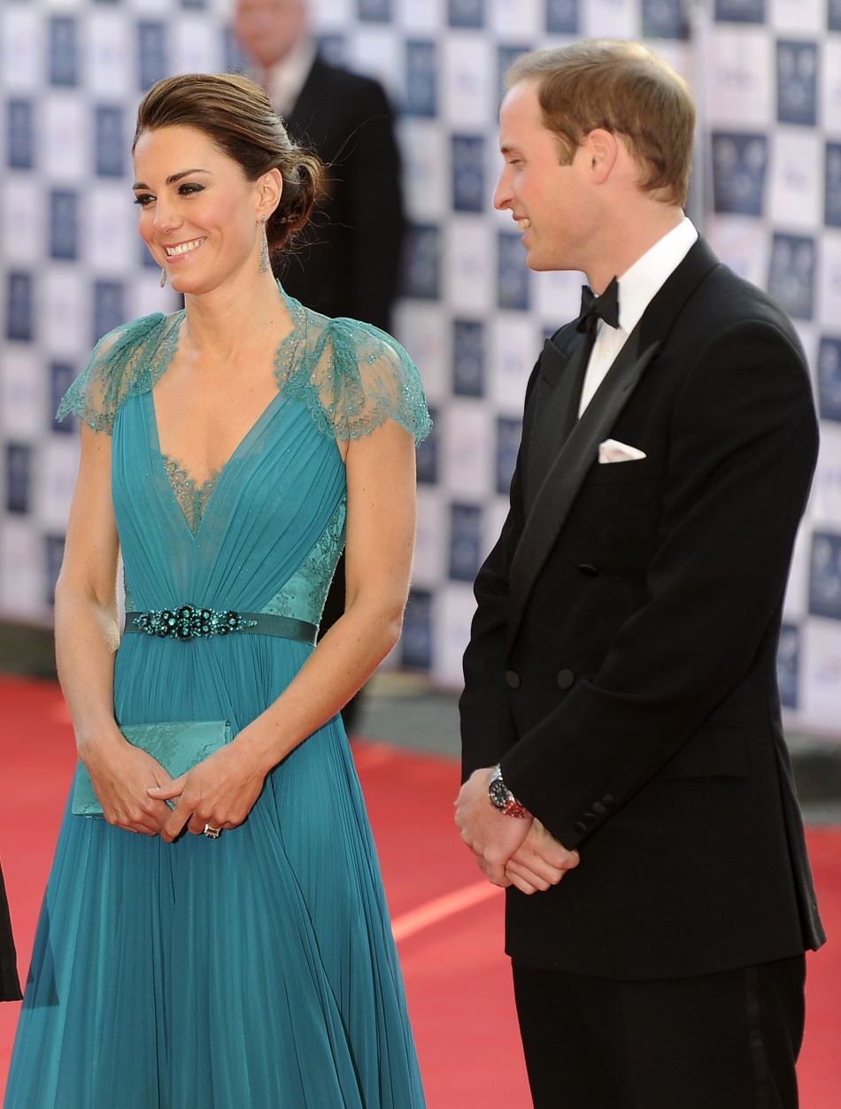 William and Kate at Our Greatest Team Rises Event in London