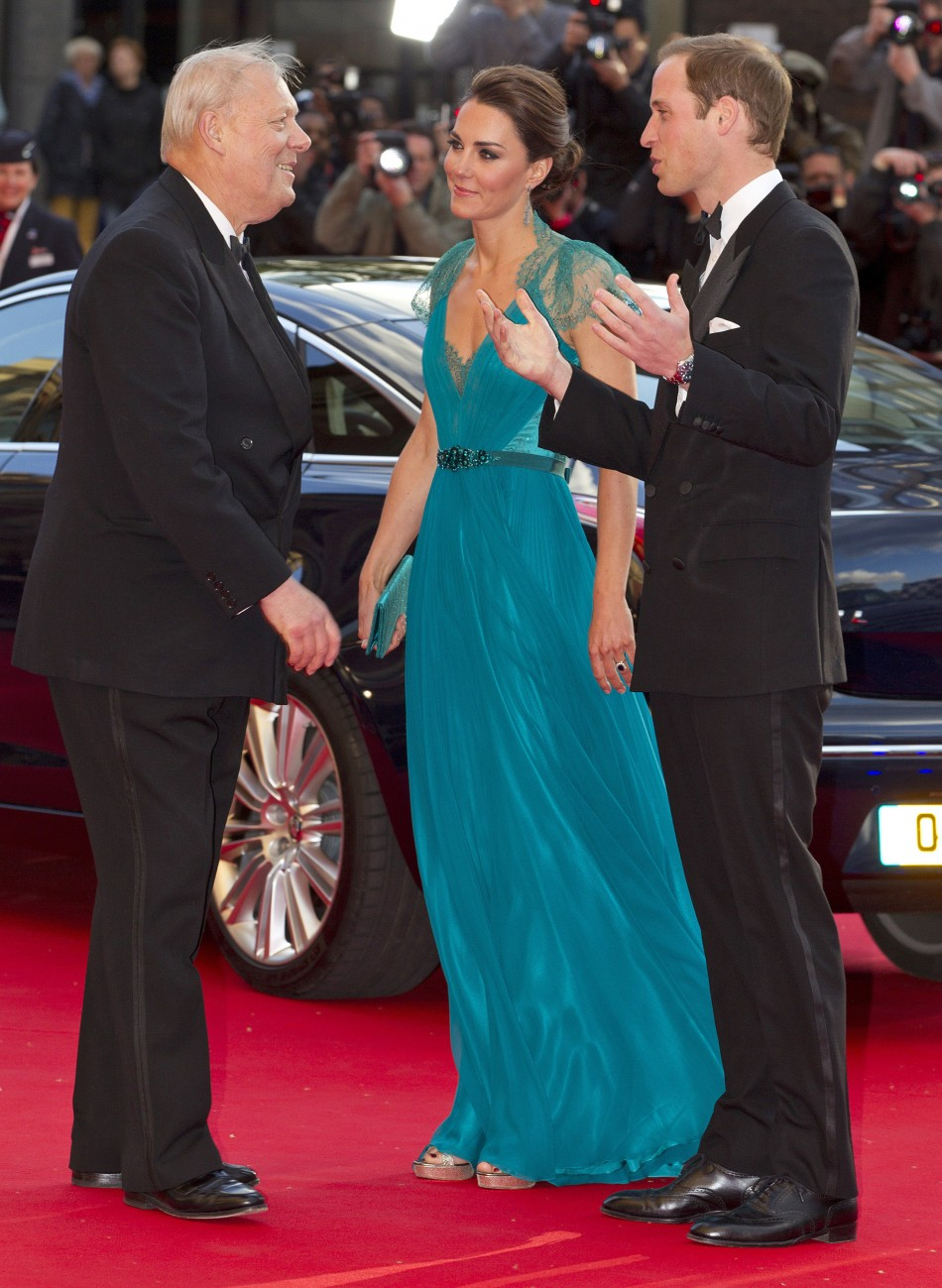 Britains Prince William and Catherine, Duchess of Cambridge arrive for the Our Greatest Team Rises event to celebrate TeamGB and ParalympicsGB at the Royal Albert Hall, in central London