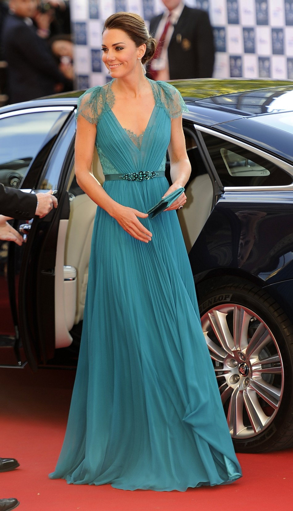 Britains Catherine, Duchess of Cambridge arrives for the Our Greatest Team Rises event to celebrate TeamGB and ParalympicsGB at the Royal Albert Hall, in central London