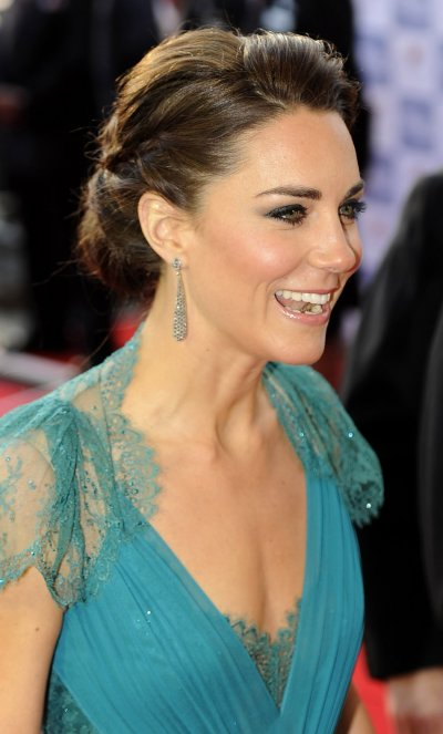 Britains Catherine, Duchess of Cambridge arrives for the Our Greatest Team Rises event at the Royal Albert Hall in central London