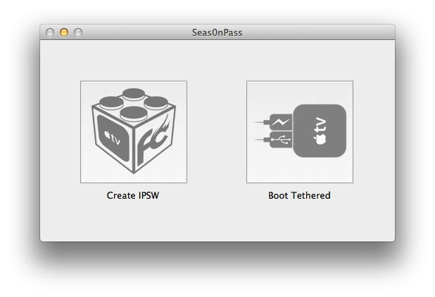 Seas0nPass - Tether Jailbreak Apple TV 2 / 3 on iOS 5.1.1