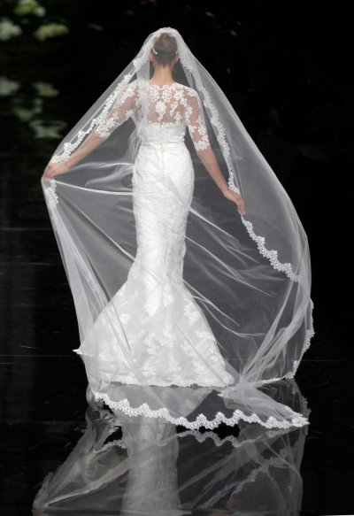 Elie Saab for Pronovias Sumptuous Gowns Displayed at Barcelona Bridal Show