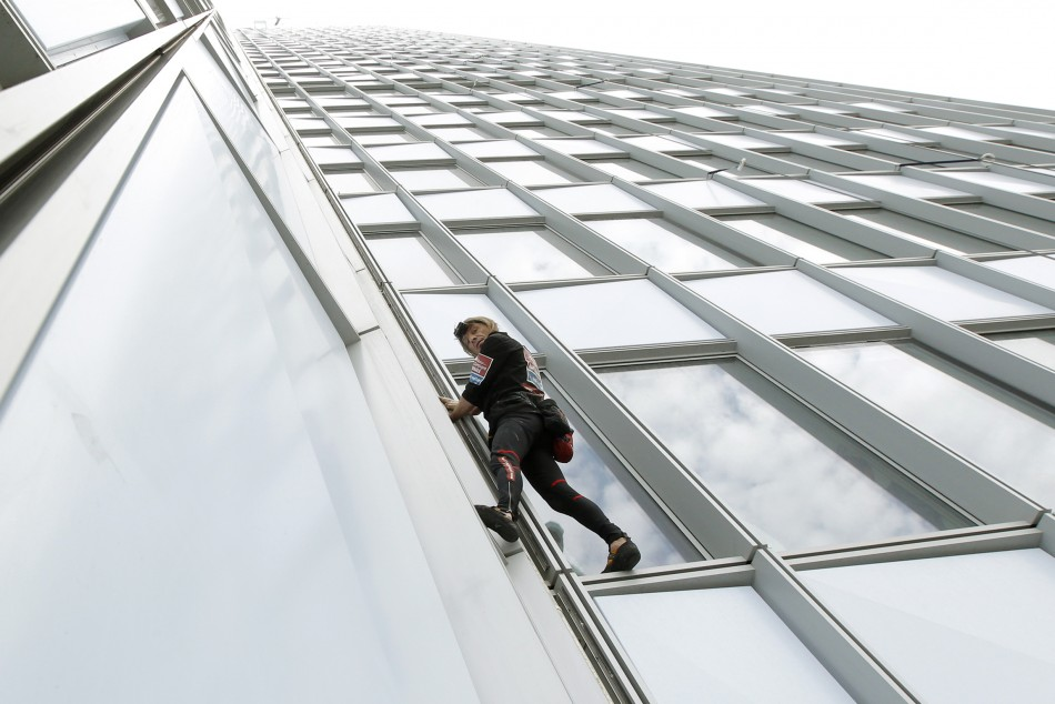 French Spiderman Scales the Tallest Building in France
