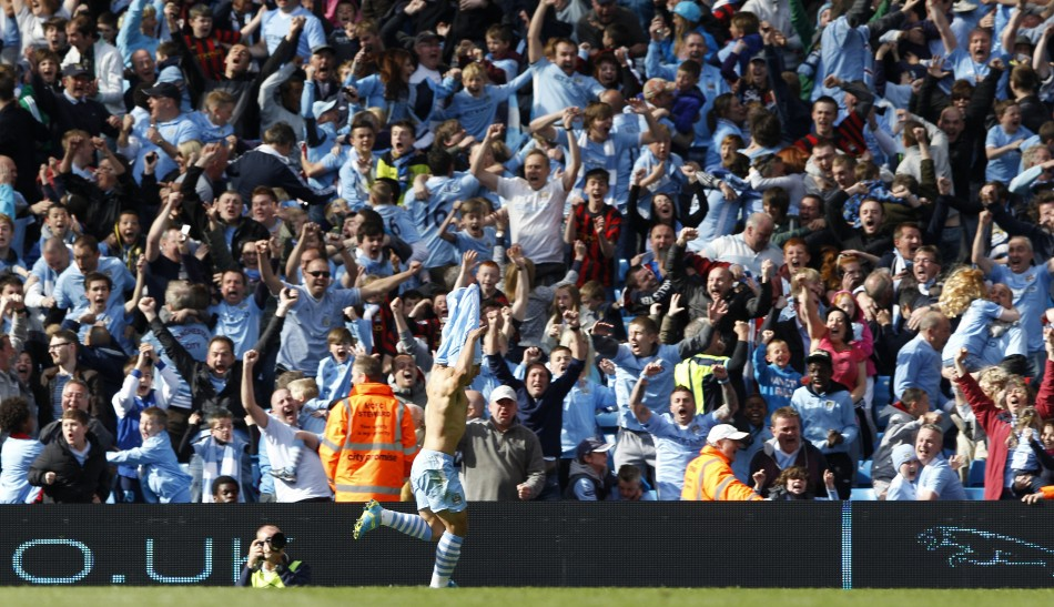 Aguero Strike Snatches Title From Uniteds Grasp