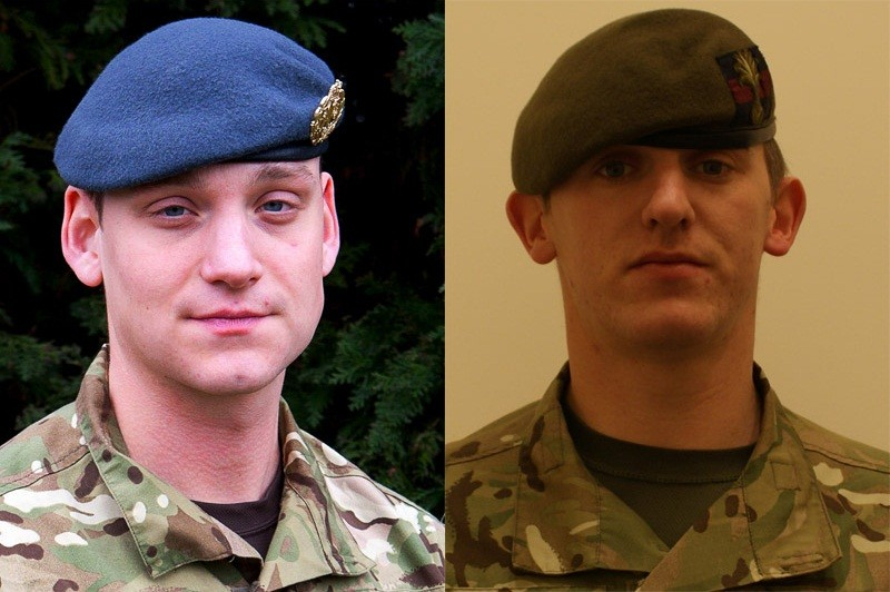 Corporal Brent John McCarthy, from the Royal Air Force, and Lance Corporal Lee Thomas Davies, from the 1st Battalion Welsh Guards, were killed in Afghanistan on Saturday 12 May 2012.