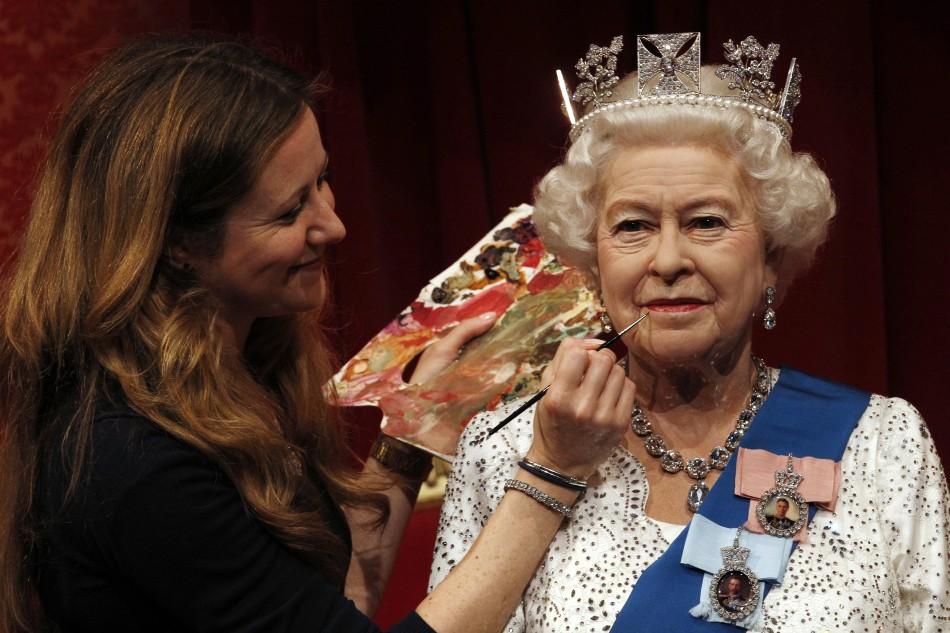 Queen Elizabeth II Waxwork