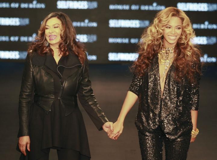 Tina and Beyonce Knowles