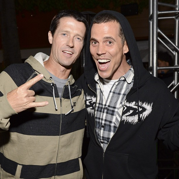 "Steve-O peed at the red carpet of the movie premiere of ""Jackass 2"""