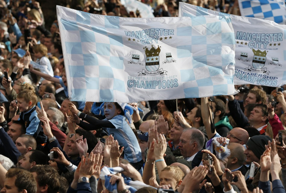 Manchester City victory parade
