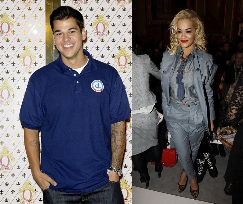 Rob Kardashian and Rita Ora
