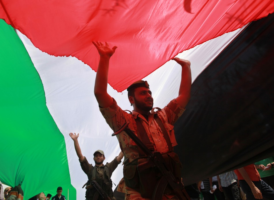 """Thousands of Palestinians have attended demonstrations to commemorate """"Nakba day"""""""