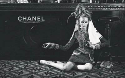 First Look Chanel Unveils Daria Strokous Starring Pre-Fall 2012 Campaign Images