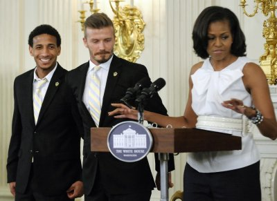 Obama and Beckham