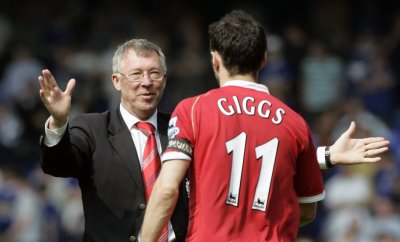 Sir Alex Ferguson and Ryan Giggs R