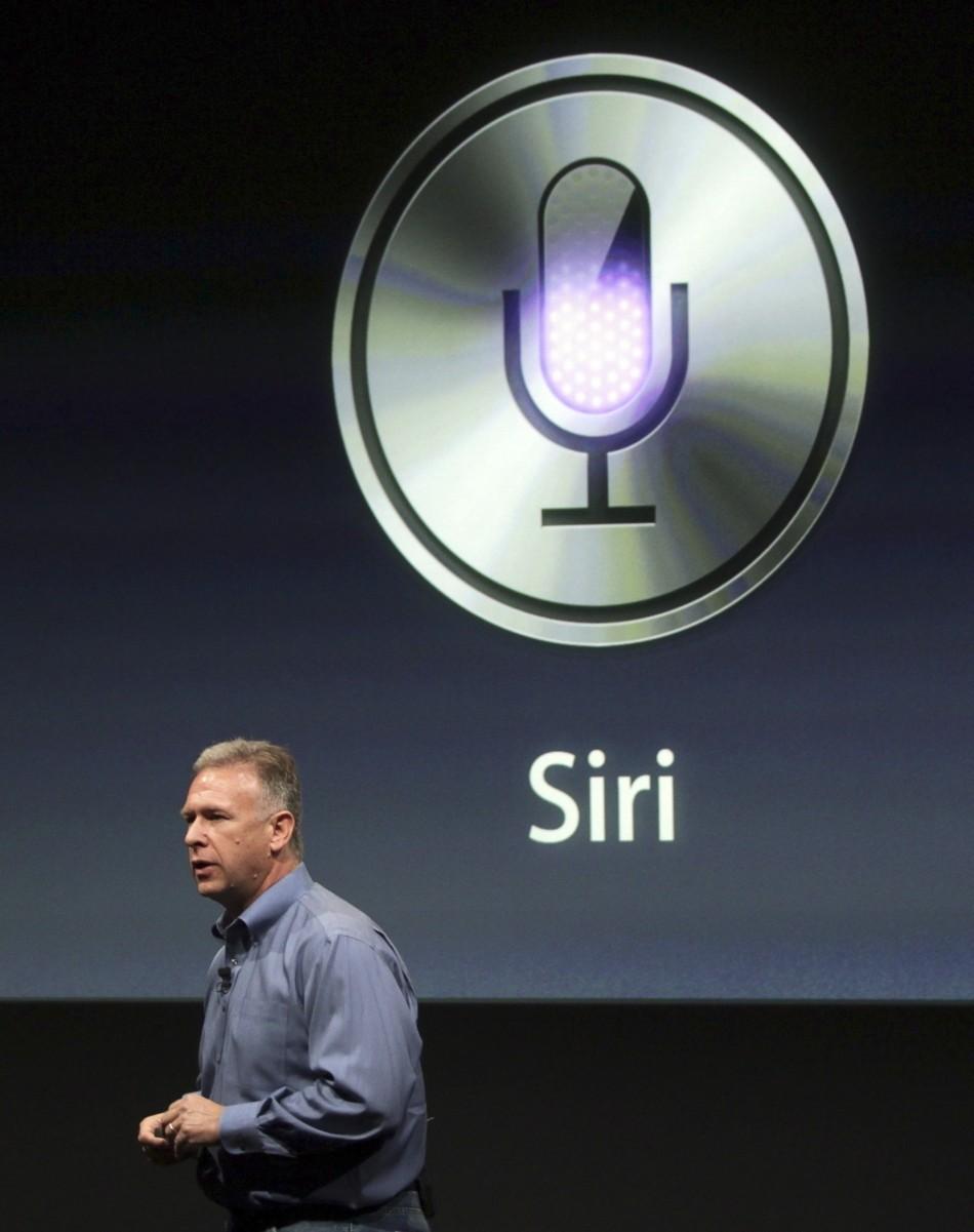 Apple Siri launch logo