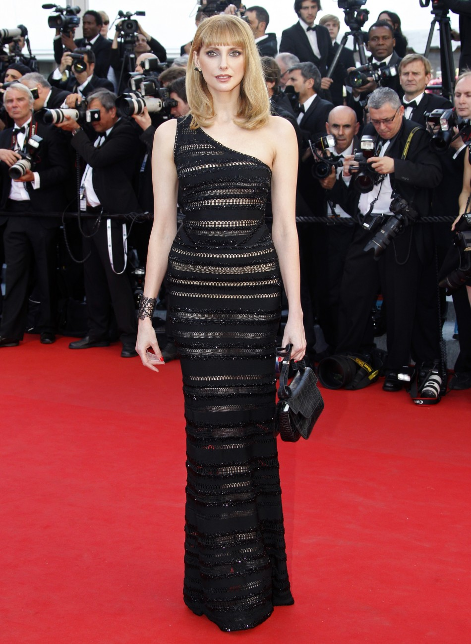 French actress Bel arrives on the red carpet for the screening of the film Moonrise Kingdom in competition at the 65th Cannes Film Festival