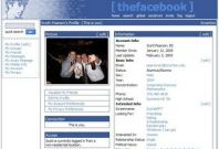 The Many Faces of Facebook 2005