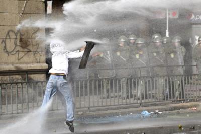Clashes erupt
