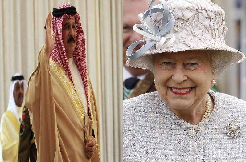 Queen's invitation to King Hamad al-Khalifa of Bahrain and other despots to join in jubilee celebrations sets off furore with human rights campaigners
